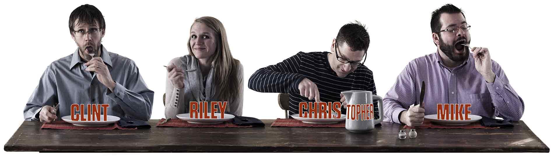 Staff-dinner-silly